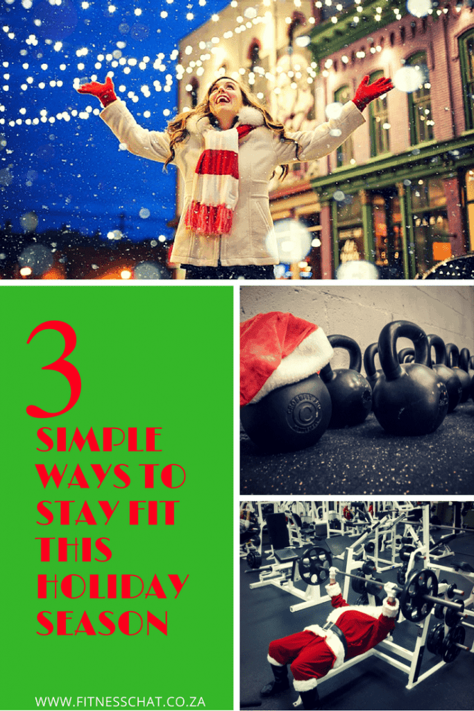How to stay fit during holidays