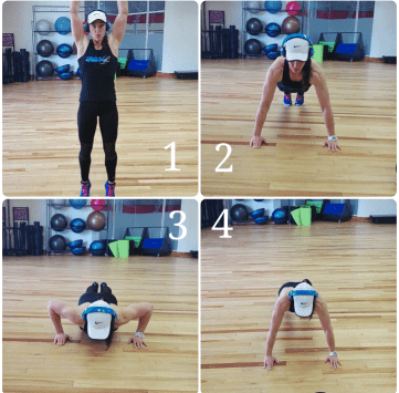 burpees HIIT workout