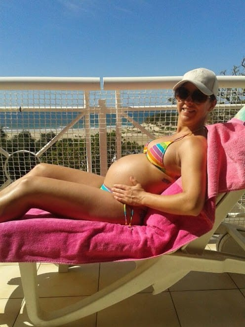 how to get back in shape after giving birth