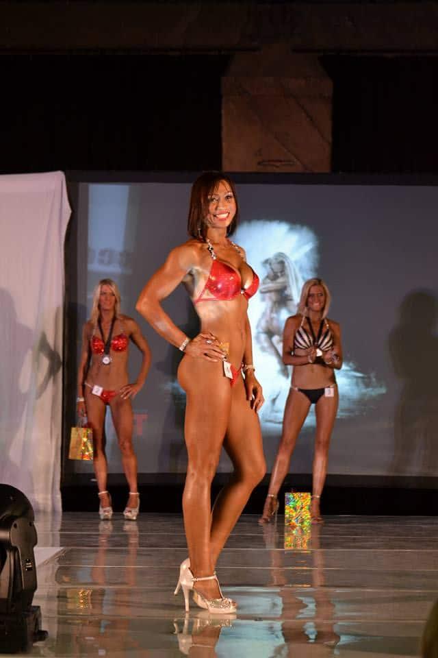 Tercia Dawes fitness model south africa