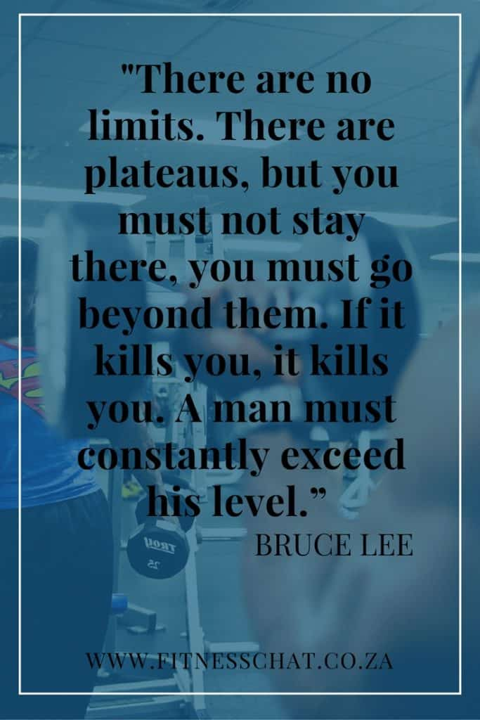 Bruce Lee inspiration quote