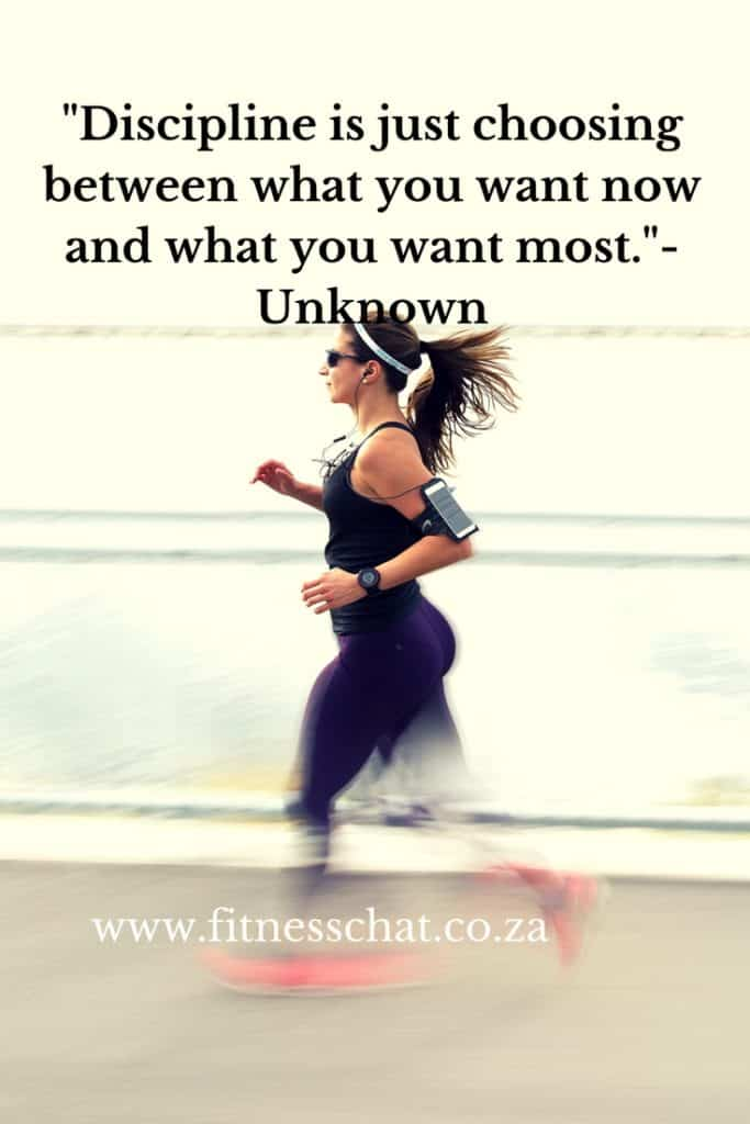 discipline motivational fitness quotes