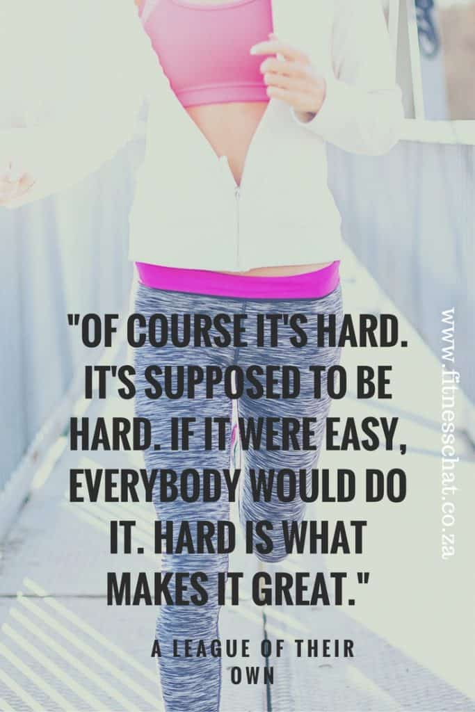 Of course it's hard. It's supposed to be hard