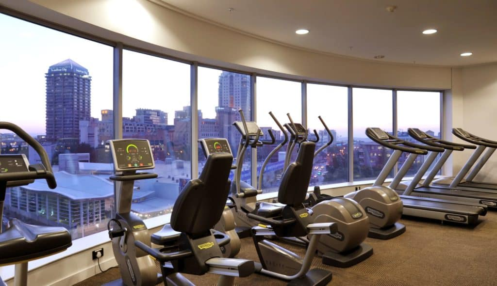 Radisson Blu Gautrain Hotel fitness center