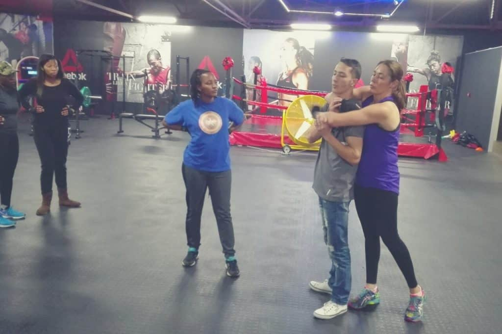 SELF- DEFENCE SKILLS FOR WOMEN