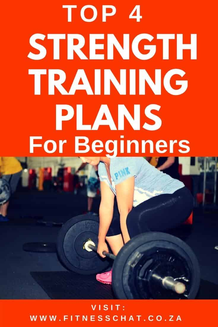 TOP 4 strength training plans for beginners