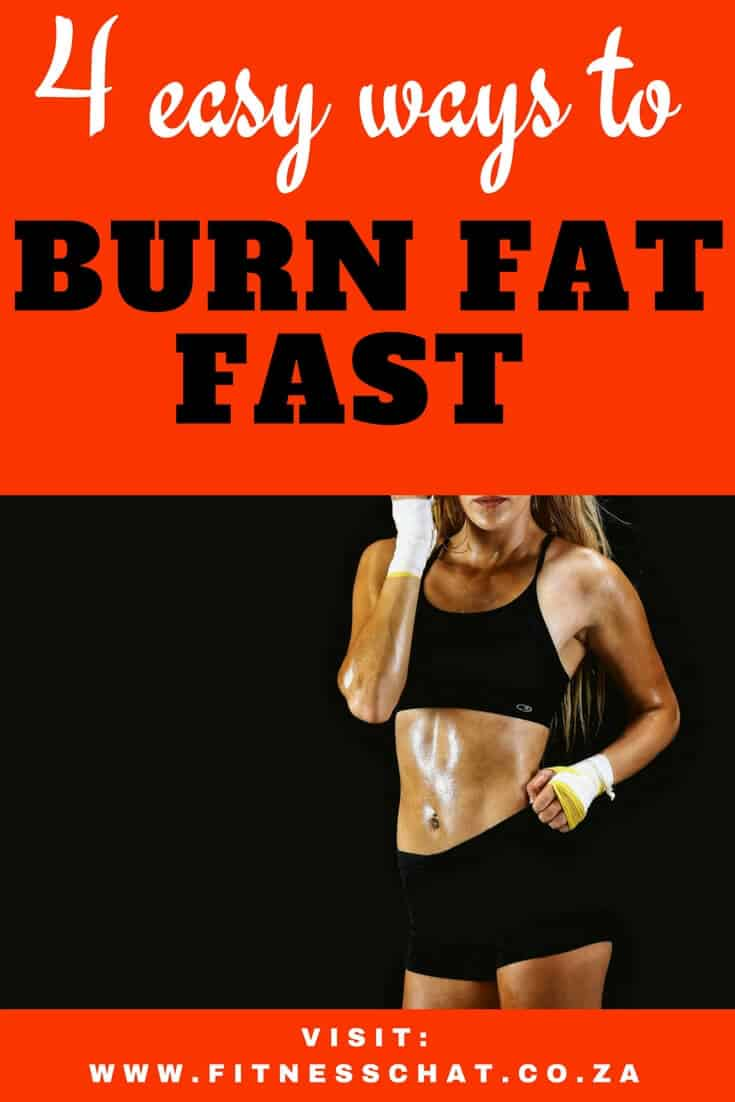 Become a fat burning machine by discovering these 4 easy ways to burn fat for beginners | Fat loss principles for beginners| How to burn fat and lose weight