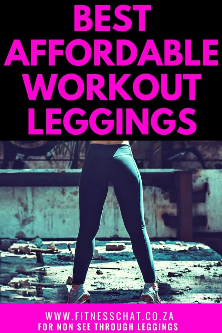 Looking for the best black leggings or non see through workout tights?