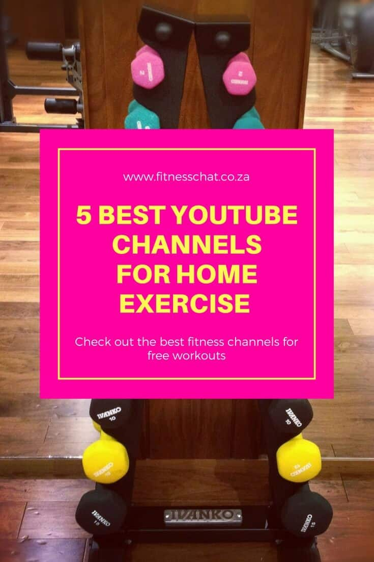 home workouts on YouTube, how to workout at home