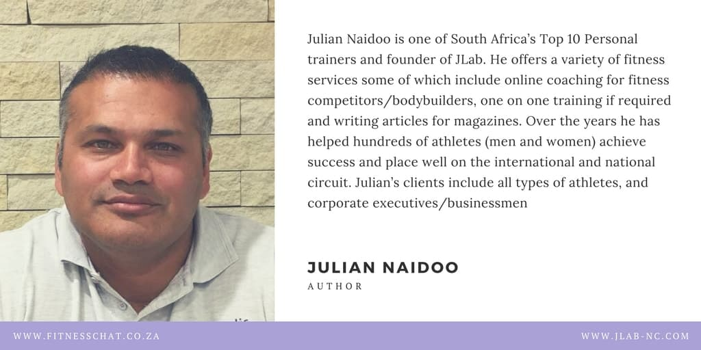 Julian Naidoo personal trainer
