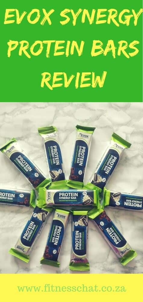 EVOX LEAN-PRO PROTEIN AND SYNERGY PROTEIN BARS REVIEW